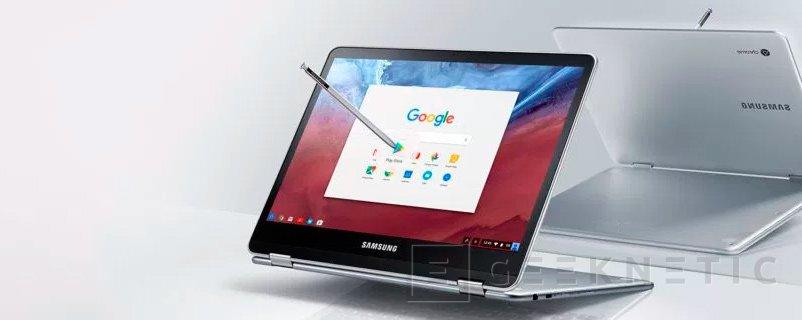 Samsung lanza el Chromebook Pro con stylus y convertible, Imagen 1