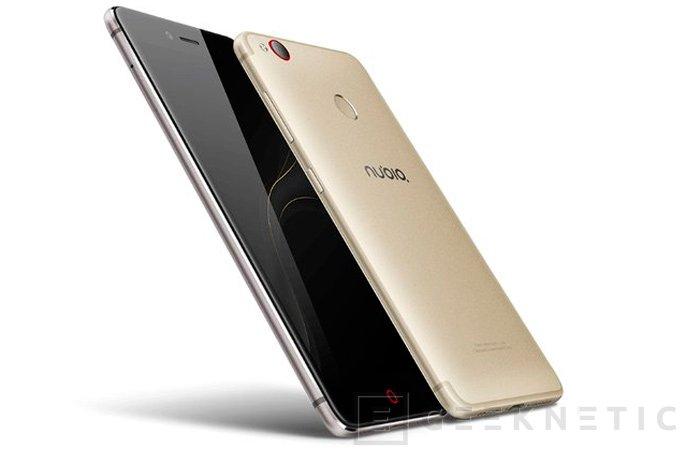 El ZTE Nubia Z11 Mini S llega con 4 GB de memoria RAM y Snapdragon 625, Imagen 1