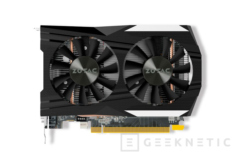 ZOTAC anuncia sus NVIDIA GeForce GTX 1050 y GTX 1050 Ti con disipador personalizado, Imagen 2