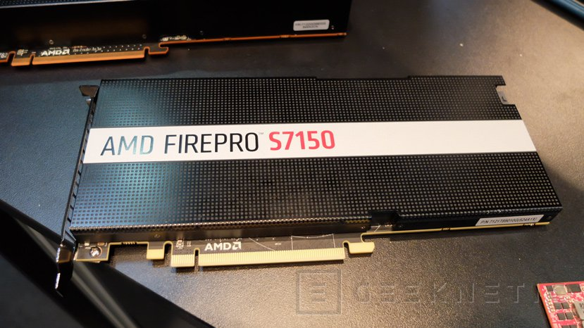 AMD nos enseña las primeras gráficas para virtualización