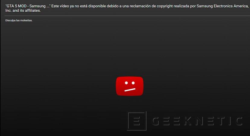 Samsung empieza a bloquear vídeos del mod de GTA V que utiliza Note 7 como explosivos, Imagen 1