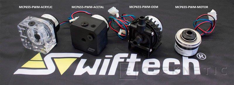 Swiftech añade regulación de velocidad PWM a sus bombas de refrigeración líquida MCP655 , Imagen 1