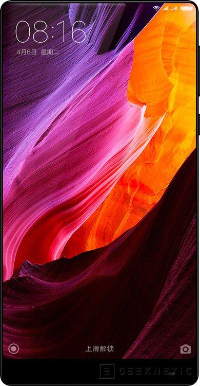 El Xiaomi Mi Mix 2 tendrá un Snapdragon 835 y pantalla curvada, Imagen 1