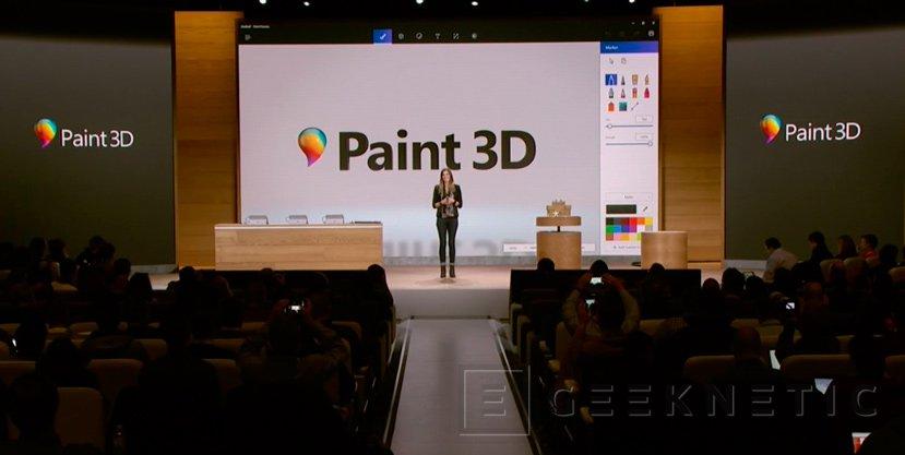 Microsoft Paint 3D, llega la renovación de su aplicación de dibujo más mítica, Imagen 1