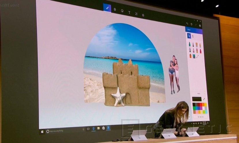 Microsoft Paint 3D, llega la renovación de su aplicación de dibujo más mítica, Imagen 2
