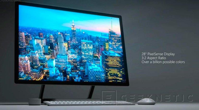 El Microsoft Surface Studio vendrá con gráficas GeForce GTX 980M y GTX 965M, Imagen 1