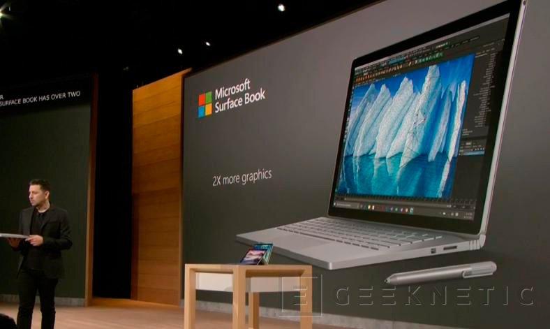Microsoft Surface Book i7 con más potencia y un 30% más de batería, Imagen 1