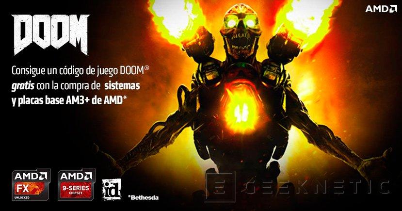 AMD regala el Doom por la compra de placas y sistemas AM3+, Imagen 1