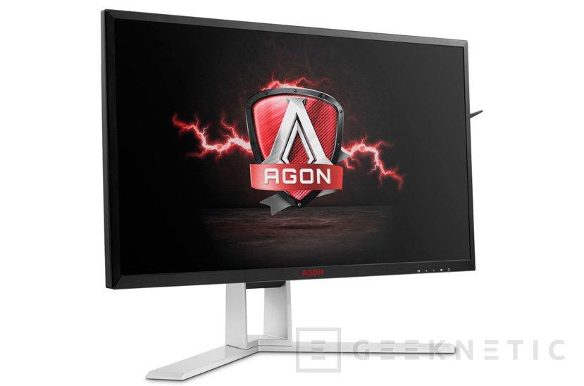 La serie de monitores AG241 AOC incluye sincronización FreeSync/G-Sync y respuesta de 1 ms , Imagen 1