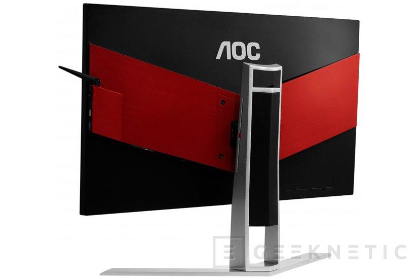 La serie de monitores AG241 AOC incluye sincronización FreeSync/G-Sync y respuesta de 1 ms , Imagen 2