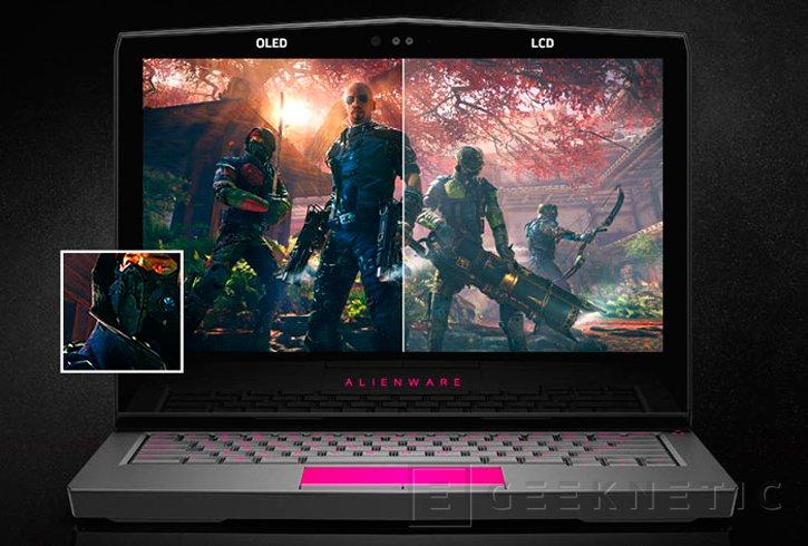 Alienware actualiza sus portátiles de 13 pulgadas con GTX 1060 y panel OLED, Imagen 2