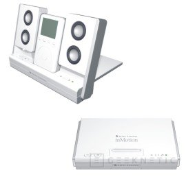 Altec Lansing presenta la pareja ideal del iPod, el inMotion, Imagen 2