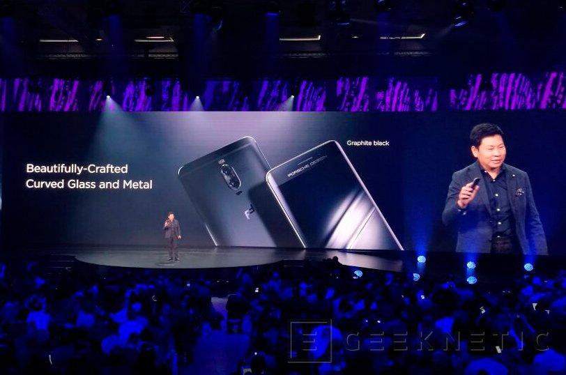 Mate 9, pantalla curvada y diseño de Porsche para la gama alta de Huawei, Imagen 3