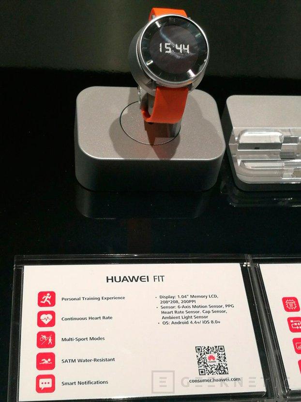 Huawei desvela Fit, una pulsera cuantificadora en un reloj, Imagen 2