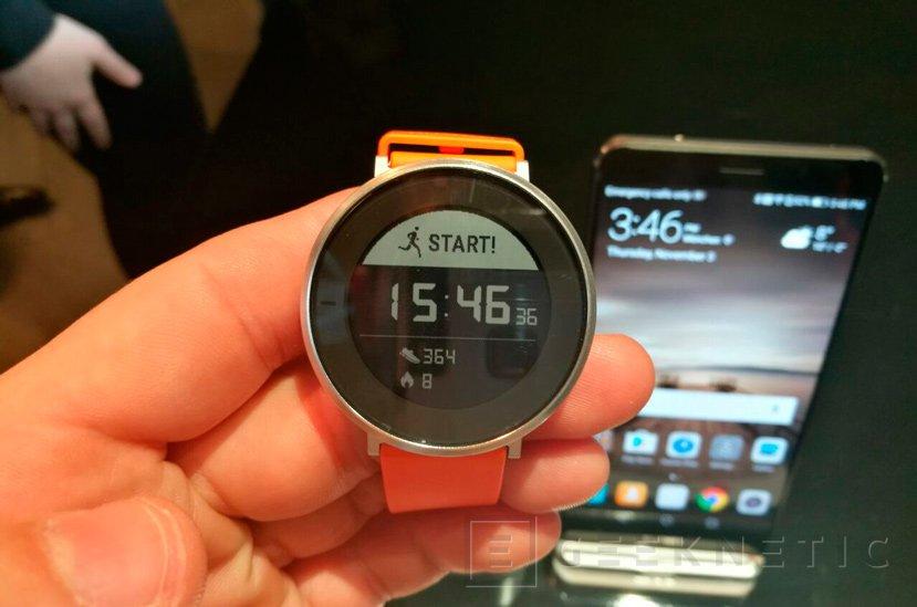 Huawei desvela Fit, una pulsera cuantificadora en un reloj, Imagen 3