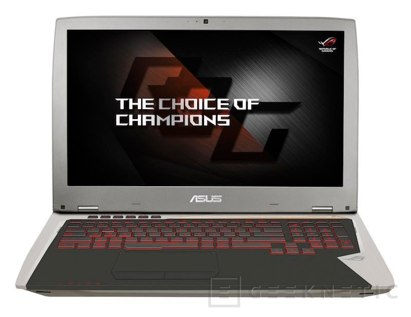 ASUS ROG G701VI, el primer portátil del mercado con 120Hz y G-SYNC , Imagen 2