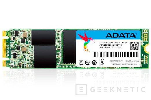 ADATA apuesta por el formato M.2 en sus SSD Ultimate SU800 SATA, Imagen 1