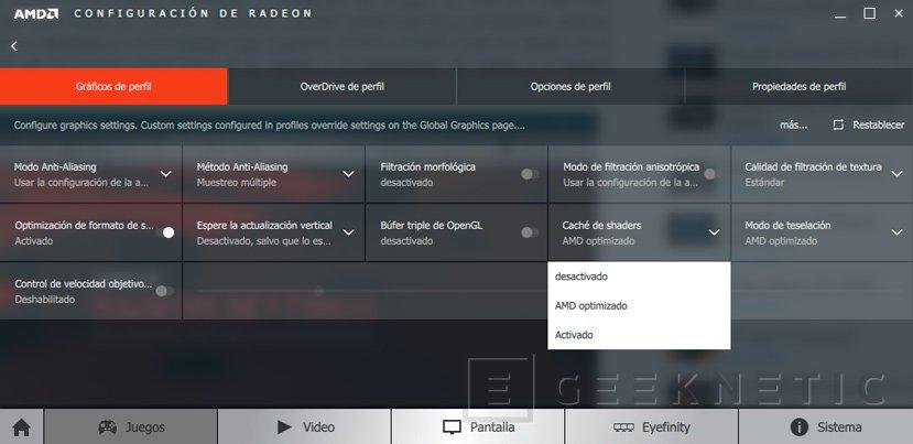 Los drivers AMD Crimson Edition 16.11.2 amplían la caché de Shaders para acelerar la carga de juegos, Imagen 1