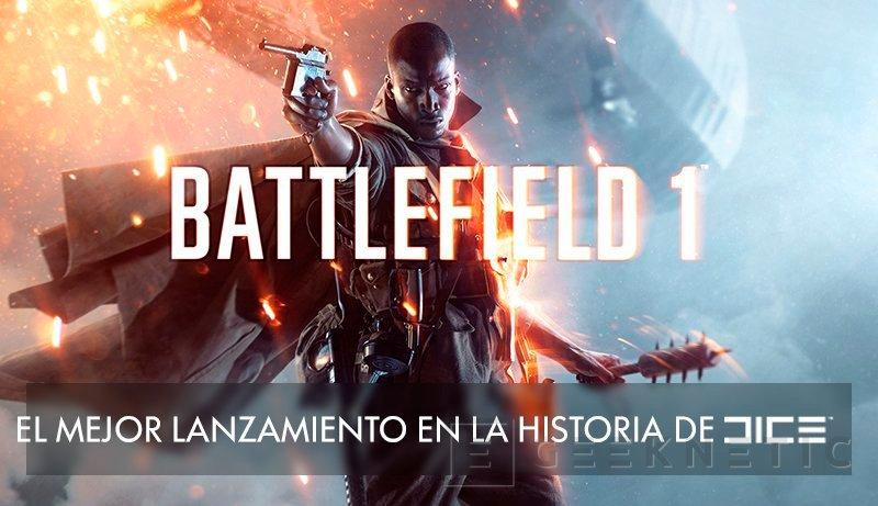 Battlefield 1 se convierte en el mejor lanzamiento de la historia de DICE, Imagen 1