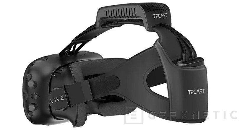 Las gafas de realidad virtual HTC Vive ya no necesitan cables, Imagen 1
