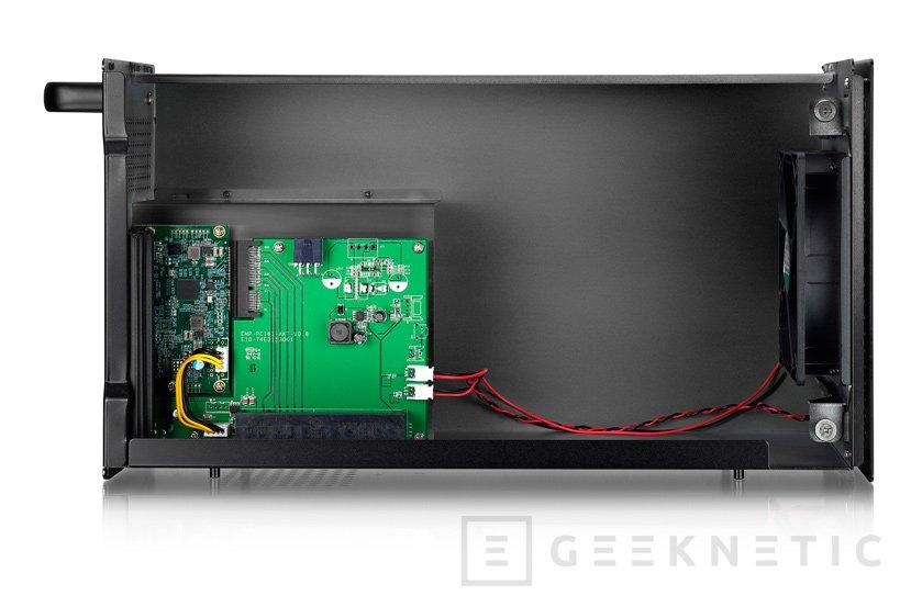 AKiTiO Node, otra carcasa para tarjetas gráficas externas con Thunderbolt 3, Imagen 2