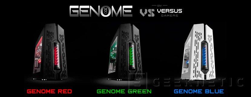 Versus Gamers presenta sus nuevos ordenadores gaming de gama alta Genome, Imagen 1