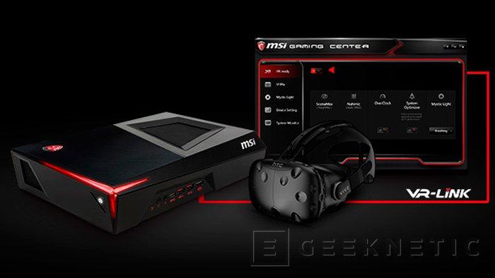 MSI Trident, mini PC Gaming con Core i7-6700 y GTX 1060 personalizada, Imagen 3