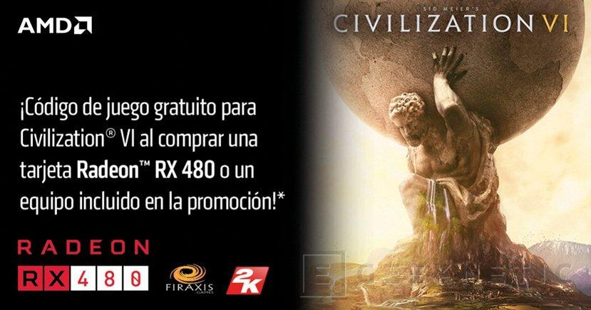 AMD regala el Civilization VI con la compra de una Radeon RX 480, Imagen 1