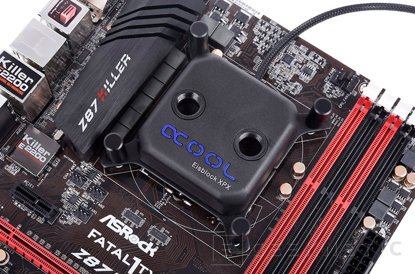 AlphaCool rediseña y mejora su bloque de refrigeración líquida para CPU Eisblock XPX, Imagen 1