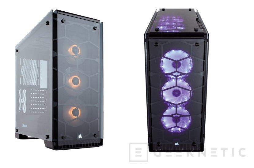 Corsair apuesta por el cristal templado para sus torres Crystal 460X y 570X, Imagen 1