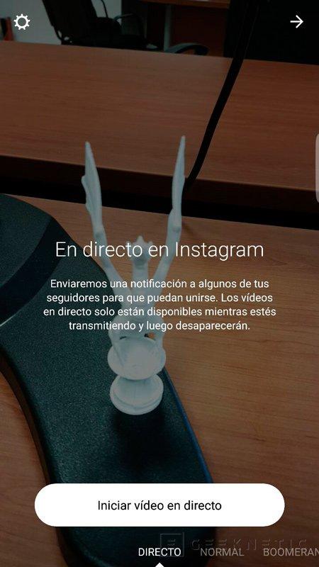 Ya disponible la transmisión de vídeo en streaming en Instagram, Imagen 1