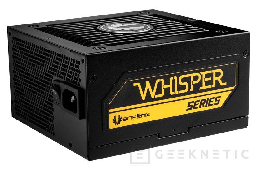 Bitfenix busca el máximo silencio en las fuentes Whisper M, Imagen 1