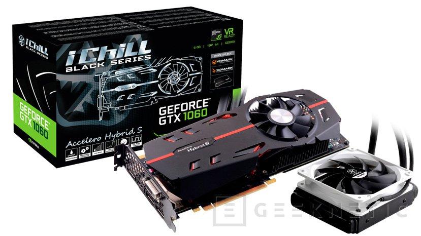 La primera GTX 1060 con refrigeración líquida es de Inno3D, Imagen 1