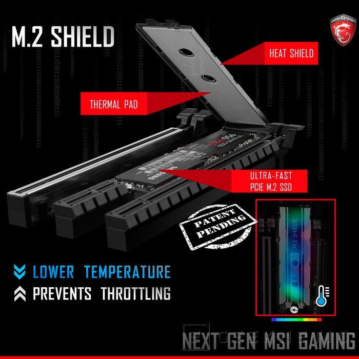MSI incorporará un disipador para SSD M.2 en sus próximas placas base, Imagen 1