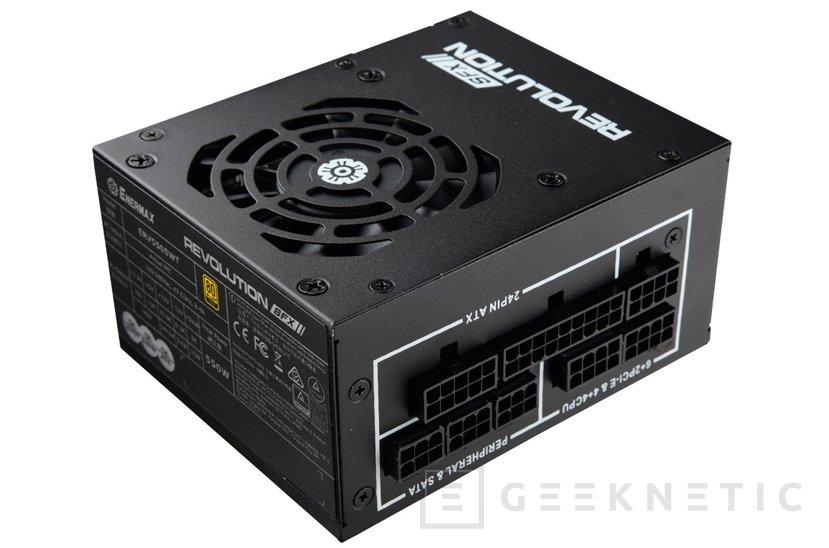 La gama de fuentes Enermax Revolution recibe a dos modelos SFX de 550W y 650W, Imagen 1