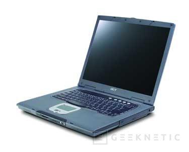 Nuevos portátiles Acer TravelMate 6000 con tecnología Intel Centrino, Imagen 1