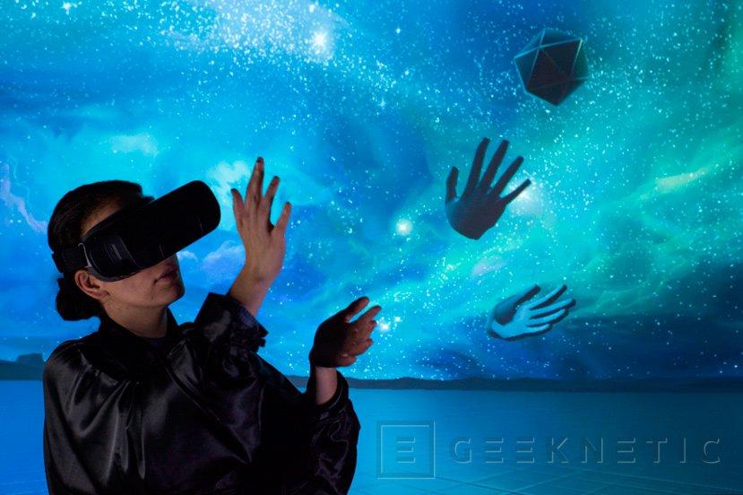 Leap Motion trabaja en un sistema de detección de manos para Gear VR, Imagen 1