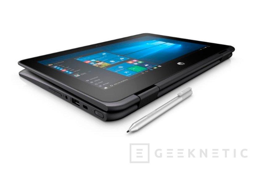 HP blinda sus convertibles ProBook x360 11 para estudiantes, Imagen 1
