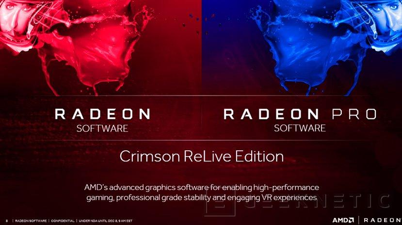 Correcciones de errores con los drivers AMD Radeon Crimson Relive 16.12.2, Imagen 1