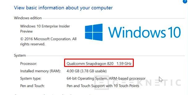 Windows 10 y aplicaciones x86 podrán ejecutarse sobre procesadores ARM en 2017, Imagen 1