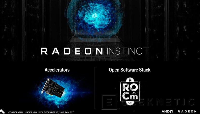 AMD anuncia Radeon Instinct, su plataforma de gráficas para Deep Learning, Imagen 3