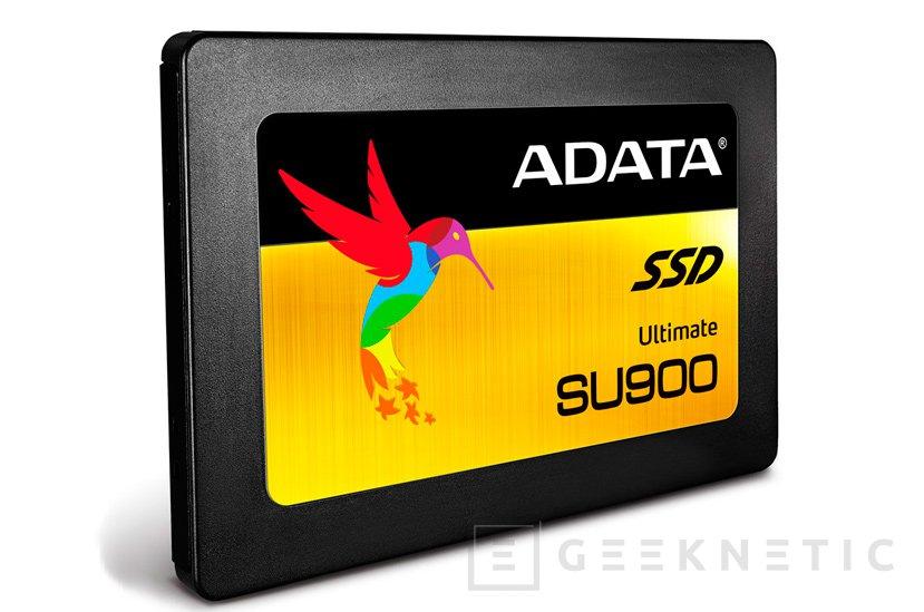 ADATA integra memorias 3D MLC NAND en su último SSD SU900 , Imagen 1