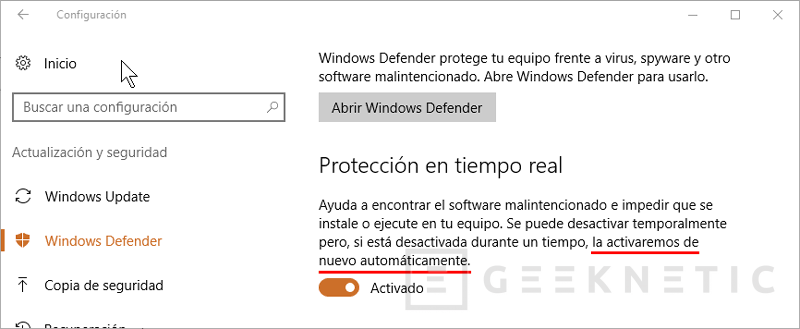 Cómo desactivar Windows Defender de forma permanente en Windows 10, Imagen 1