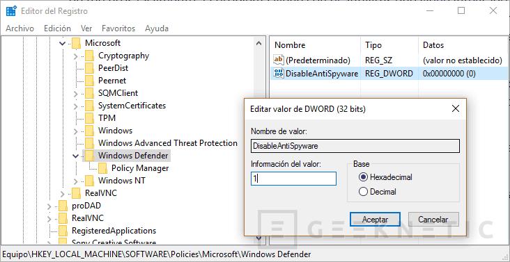 Cómo desactivar Windows Defender de forma permanente en Windows 10, Imagen 2