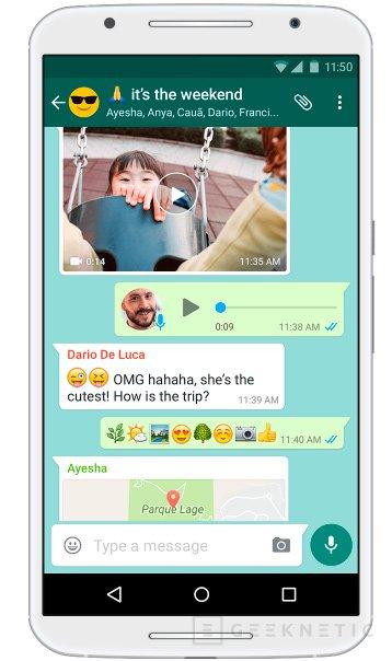 Whatsapp permitirá borrar mensajes enviados, Imagen 1