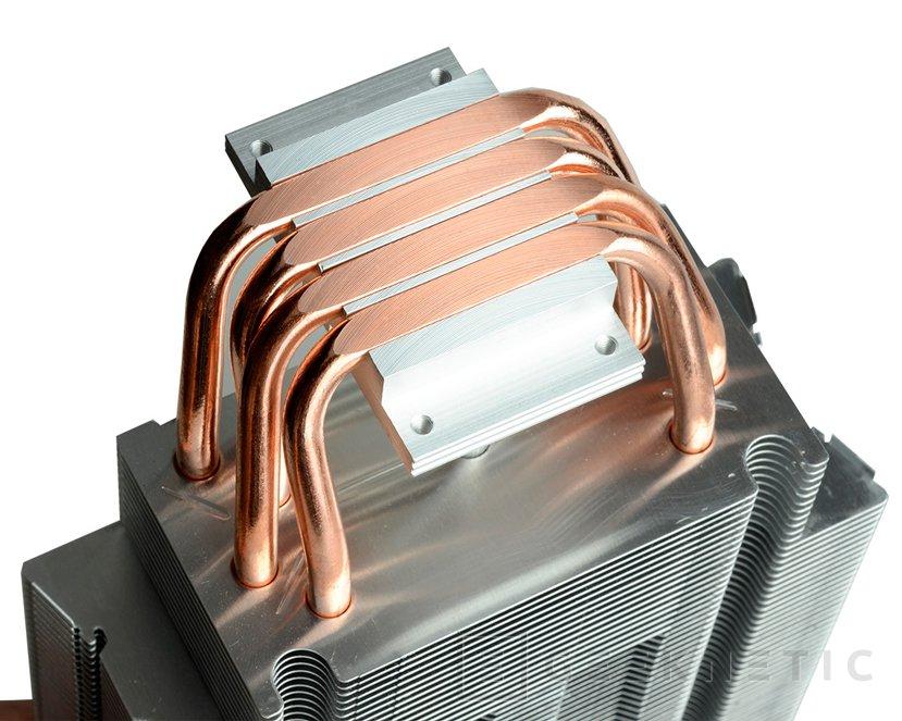 El disipador ID-Cooling SE-214C utiliza heatpipes de contacto directo, Imagen 2