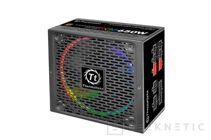 Las fuentes Thermaltake ToughPower Grand ya tienen su propia iluminación RGB, Imagen 1