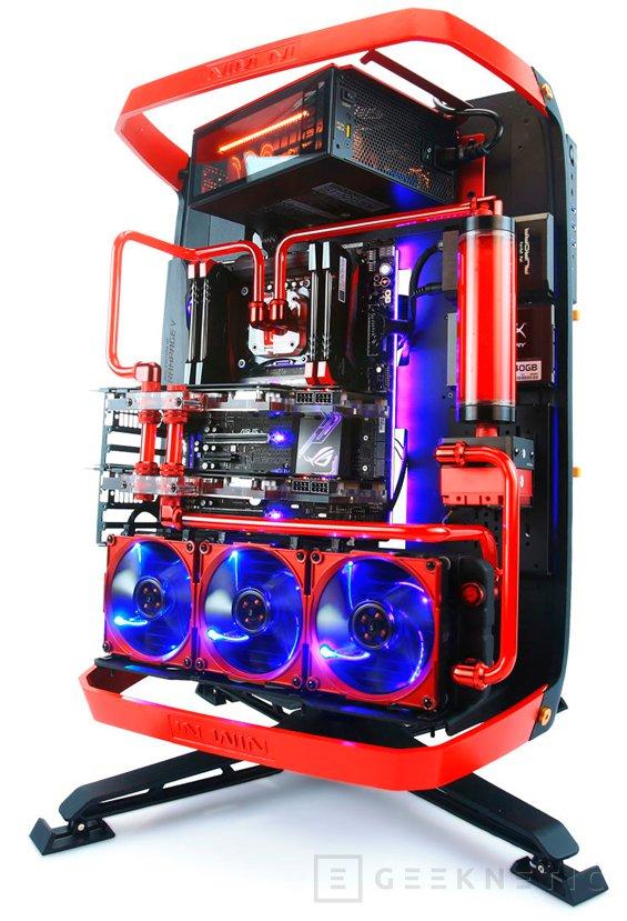 1.500 Euros costará la torre abierta In Win X-Frame 2.0, Imagen 1