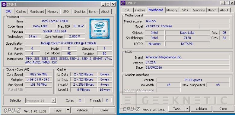 Overclockean un Intel Core i7-7700K hasta los 7 GHz de manera estable, Imagen 1