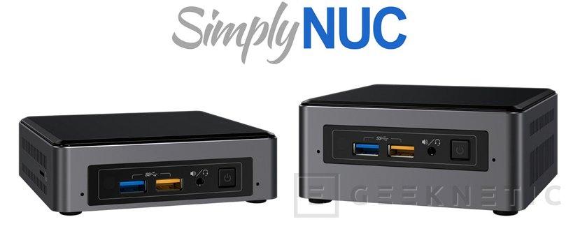 Los pequeños NUC de Intel reciben su dosis de Kaby Lake, Imagen 1